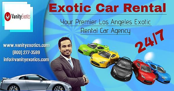 Hire Your Dream Exotic Car on Rent at #VanityExotics Your Premier #LosAngeles #Exotic Rental #Car Agency Contact Here to Know More: Visit: www.vanityexotics.com Call: (800) 277-3599 Email: info@vanityexotics.com