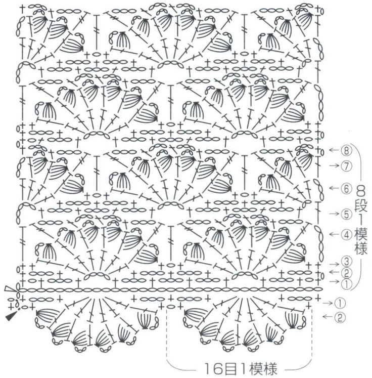 1858 best images about crochet stitches on pinterest