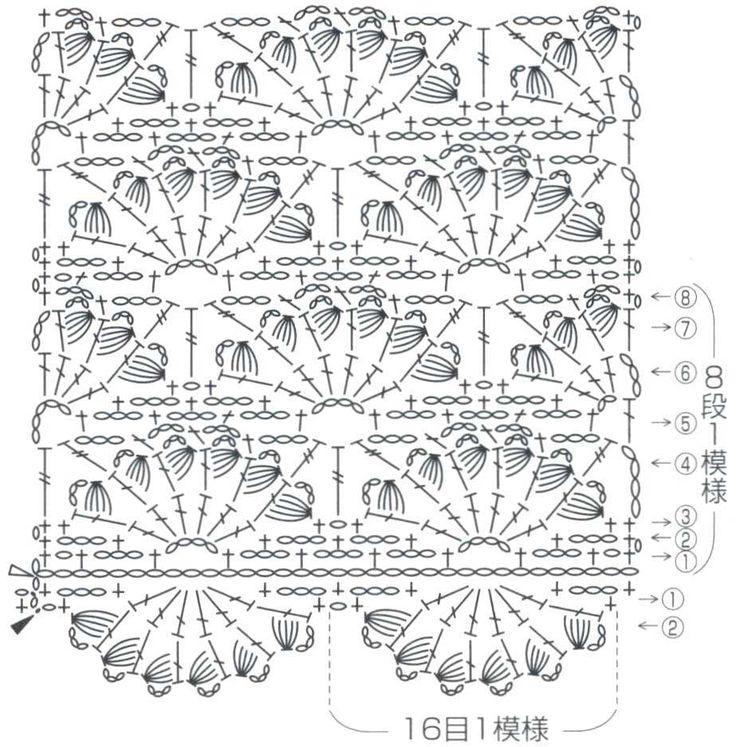 uzor-veerochki-s-pyshnymi-stolbikami-pattern-fans-with-puff-stitch32.jpg (923×937)