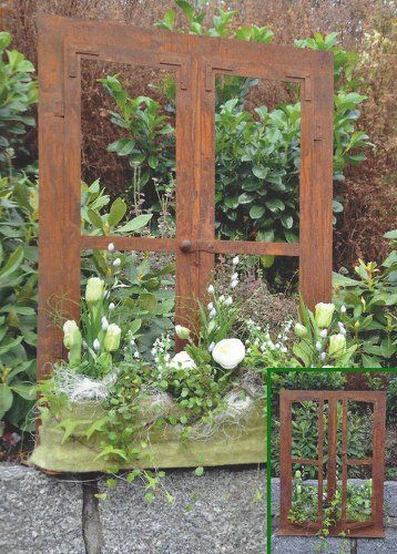 Deko Fenster 80 X 60 Cm Zum Offnen Edelrost Rost Gartendeko Dekoration Garten Kaufen Bei Hood De In 2020 Garten Kaufen Gartendekoration Dekoration