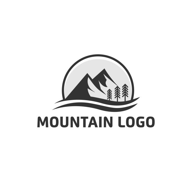 Simple Mountain Logo Designs Mountain Clipart Logo Icons Mountain Icons Png And Vector With Transparent Background For Free Download Mountain Logos Logo Design Logo Design Free Templates