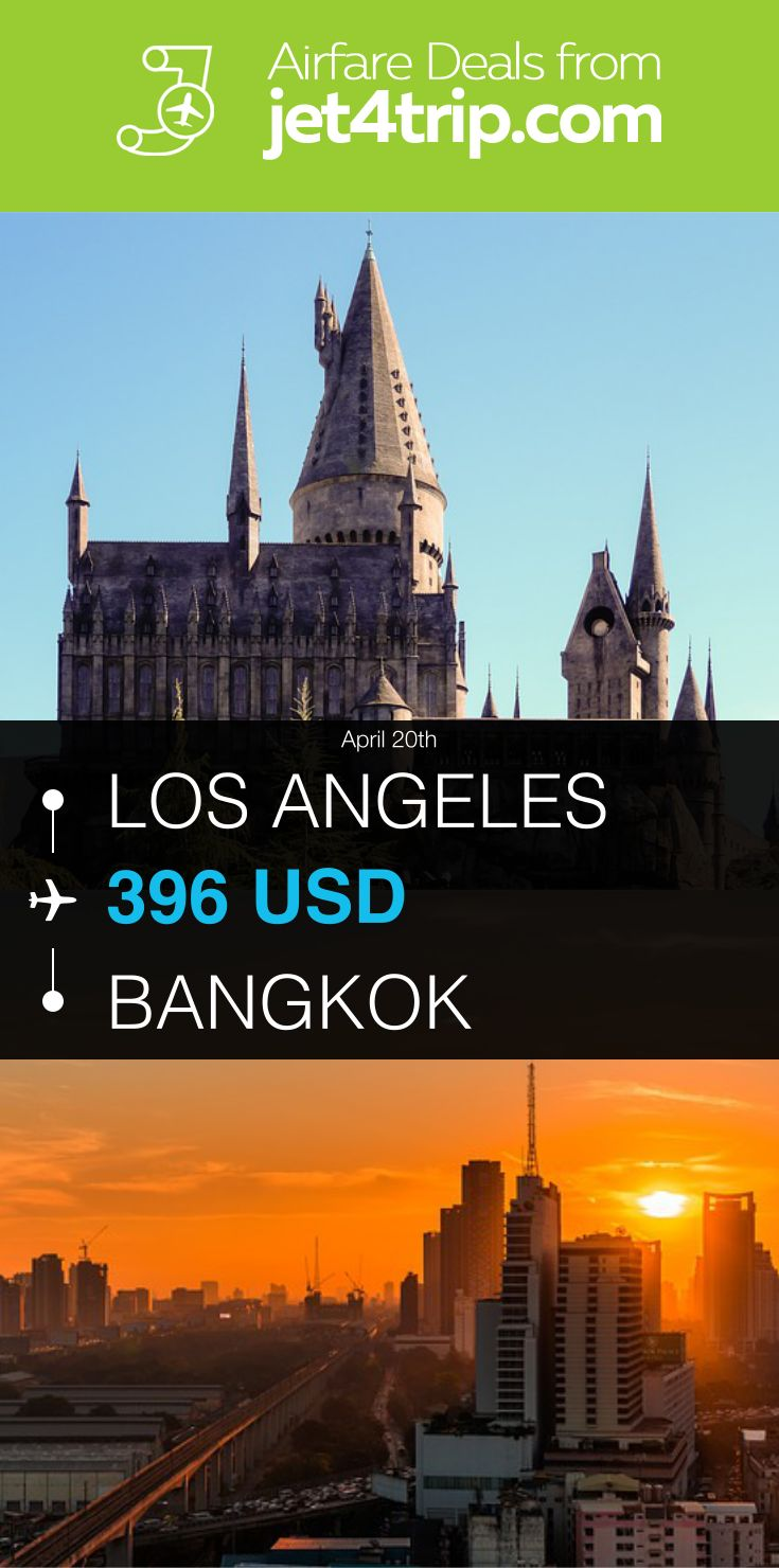 Flight from Los Angeles to Bangkok for $396 by China Eastern Airlines #travel #ticket #deals #flight #LAX #BKK #Los Angeles #Bangkok #MU #China Eastern Airlines