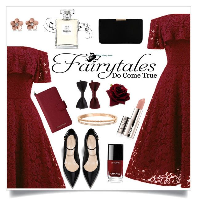 Fairytales by monique-joanne on Polyvore featuring L.K.Bennett, Swarovski, Allurez, MICHAEL Michael Kors, Forever 21, Avon, Chanel and WALL