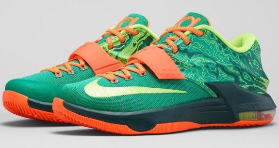 The love affair OKC Thunder forward Kevin Durant has with the elements continues with the Nike KD 7 'Weatherman' release.