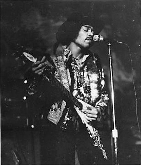 Jimi Hendrix - 1968-02-01 Fillmore Auditorium 2nd show
