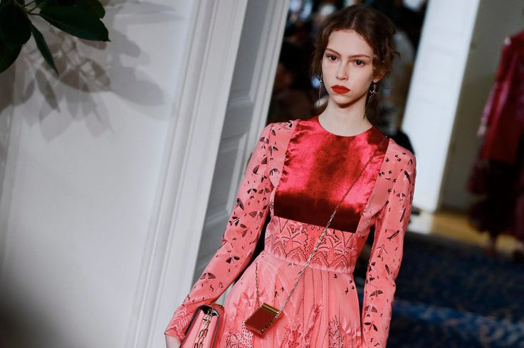 Pierpaolo Piccioli shows his first solo collection for Valentino.