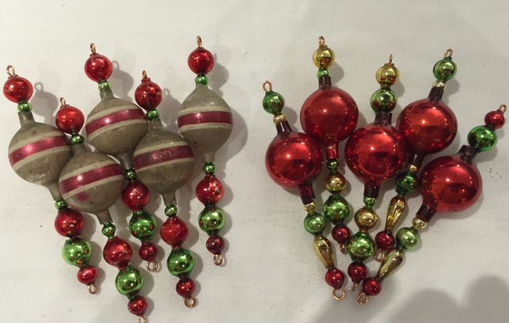 A personal favorite from my Etsy shop https://www.etsy.com/listing/236380291/vintage-ornaments-vintage-mercury-glass