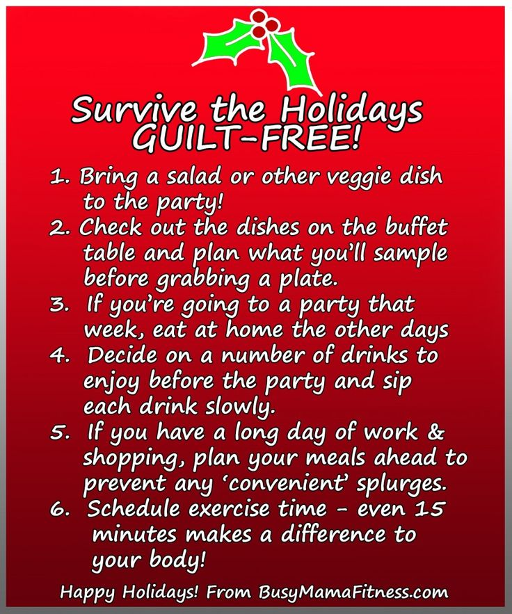 Tips To Prevent Holiday Weight Gain