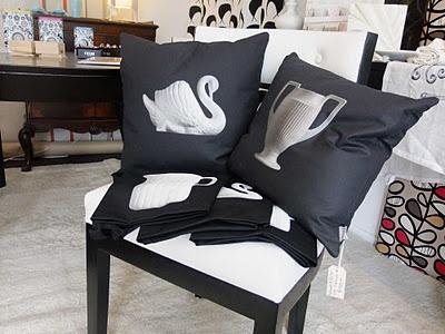 Crown Lynn Cushions