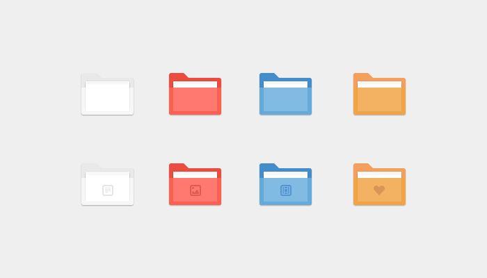 Folders Icon - Freebies Gallery
