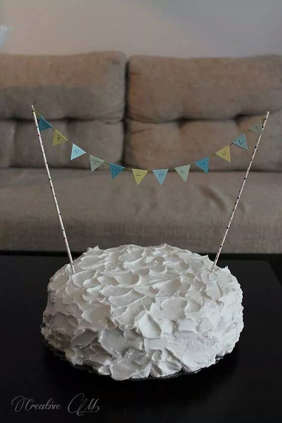 Vintage, Cake, Homemade, Whipped cream Vintage, Torta