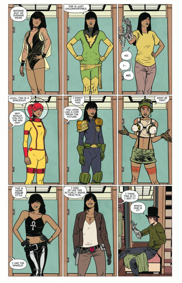 We Can Never Go Home Comic Mocks Even More Female Superhero Outfits