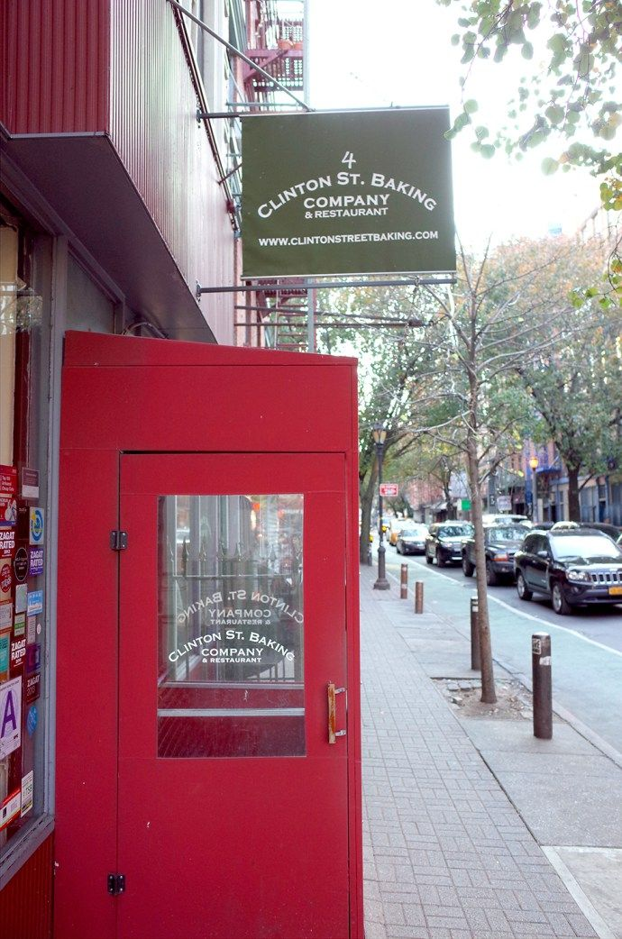 Clinton Street Baking Company - Lower East Side - I'm dying to go here for pancakes!