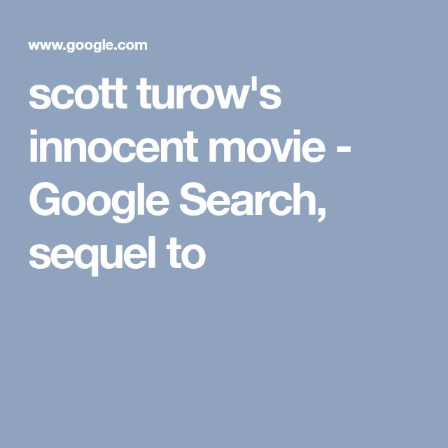 Scott Turowu0027s (author) Innocent Movie, Alan J. Pakula Directed The Film  Based On Turowu0027s First Novel, Presumed Innocent, A 1990 Box Office Hit That  Starred ...  Presumed Innocent Author