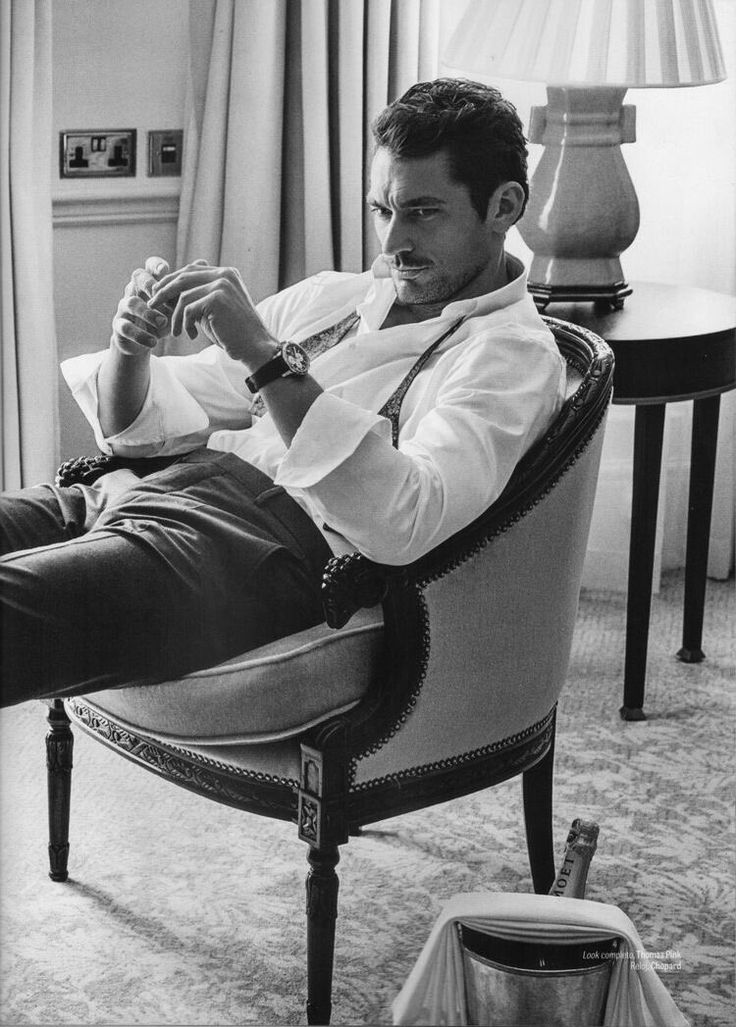 David Gandy in the October issue of @GQMexico || Ph: Richard Ramos