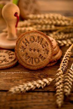 Celozrnný sušenky s kardamomem