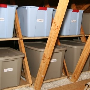 1000 Images About Attic Storage On Pinterest 2x4 Lumber