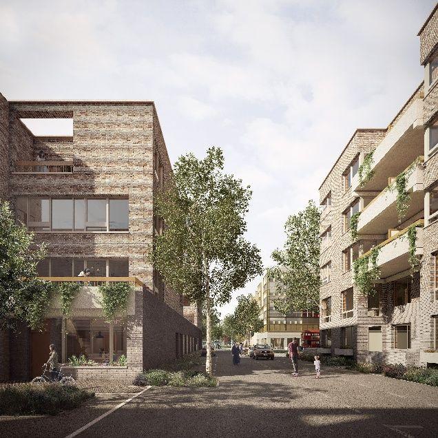 Maes Grahame Park Scheme In Colindale North London