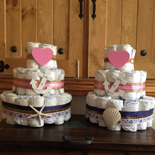 Baby shower gift or table centre piece ideas. #decorations ...