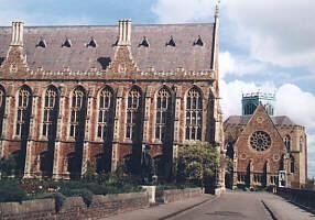 Clifton College - Big school & the chapel
