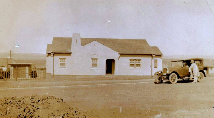 CAPITAL HOUSES: A dwelling in Canberra, typical of those built by Alf Stephens & Son in 1930s.