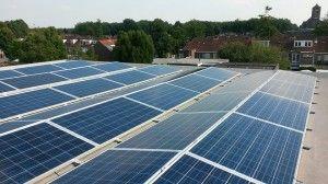 65 zonnepanelen voor Donders Meubel in Tilburg, door Pebble Green Systems