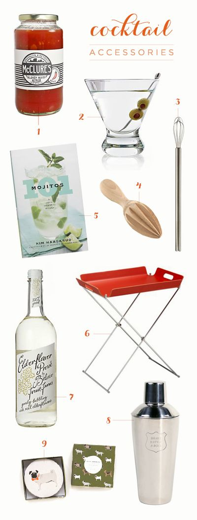 Fun cocktail tools for the summer!
