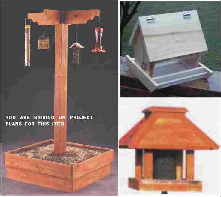 17 best ideas about bird feeder poles on pinterest for Bird feeder pole plans