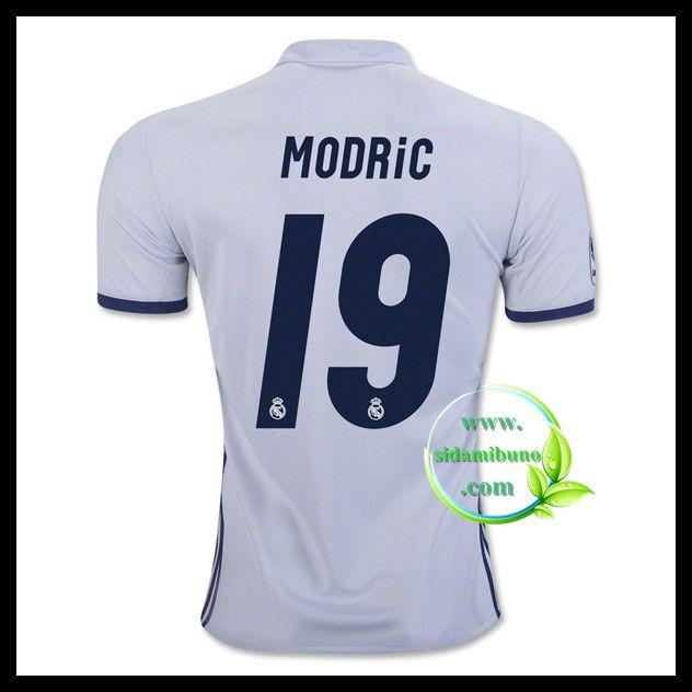Fotballdrakter FC Real Madrid MODRIC #19 Hjemmedraktsett 2016-2017