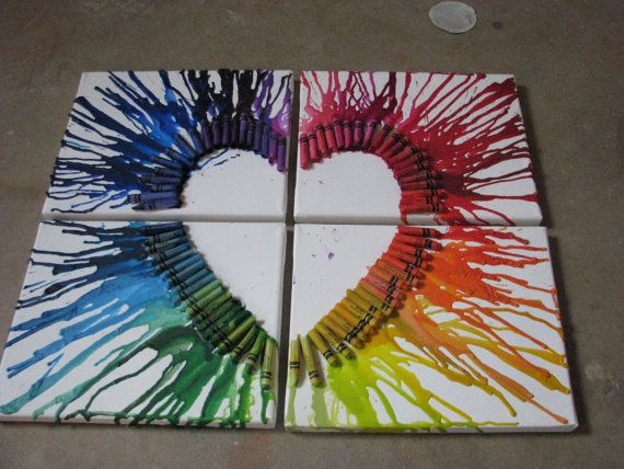 Hey guys! I made some new crayon art! Tell me what you think!