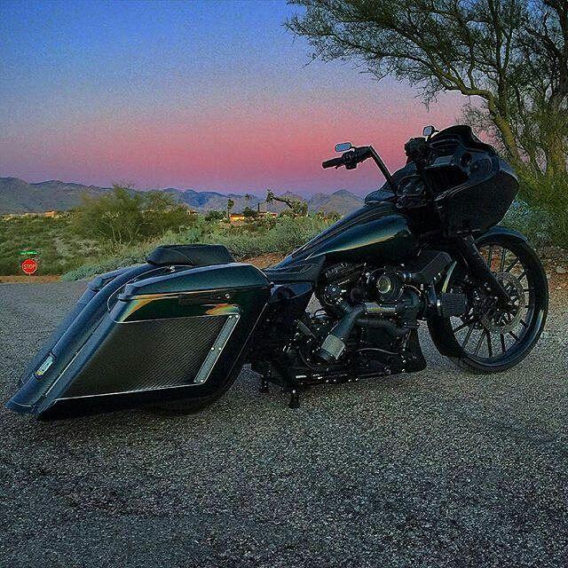 Turbo P Harley: @bennymm All Black RG With A Big Boy @traskperformance