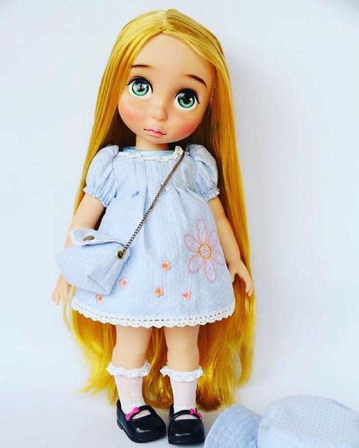 Doll Dress / Disney Animator Doll Rapunzel