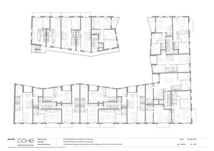 Petit Mont-Riond,Floor Plan