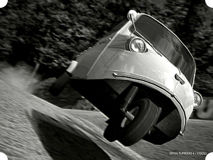 Daihatsu Midget:ダイハツ ミゼット(跳べ!ダイハツ_ミゼット - GT4_フォトブログ_<閃光的_旋回_飛翔>より)
