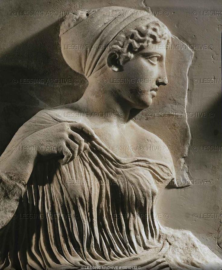 Bas relief of frieze of Parthenon (440-432 BCE) Athens Greece  Acropolis Museum