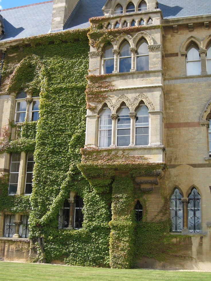 More of Christ's Church, Oxford, so you get the feeling of where the adventures take place.