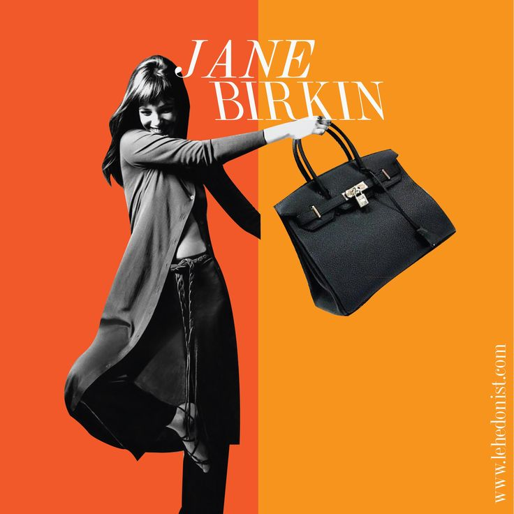 The most sought after bag in the world has the most legendary back story. It was the result of a chance meeting between the gorgeous actress Jane Birkin & Hermès chief executive Jean-Louis Dumas on a flight. When her overstuffed straw bag fell Jane startled her co-passenger with a rant on dearth of good weekend bags little knowing who he was.  Mr Dumas interviewed her at length about what exactly she wanted and shortly after Jane received the first Birkin made in history and named after her!