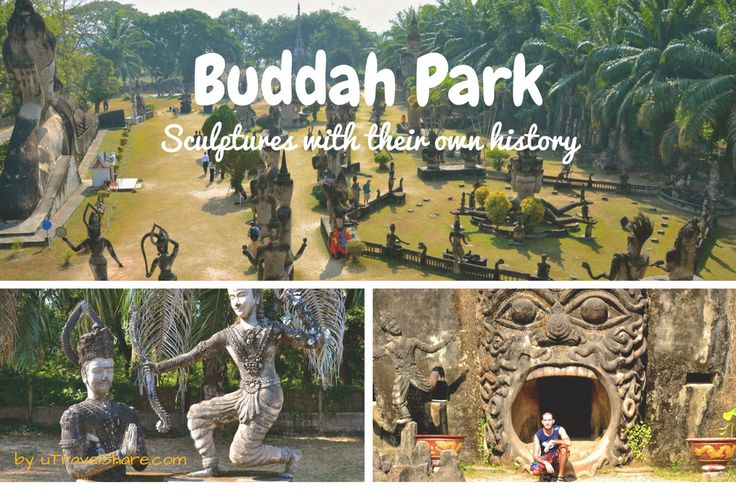 Buddah park, sculptures with their own history