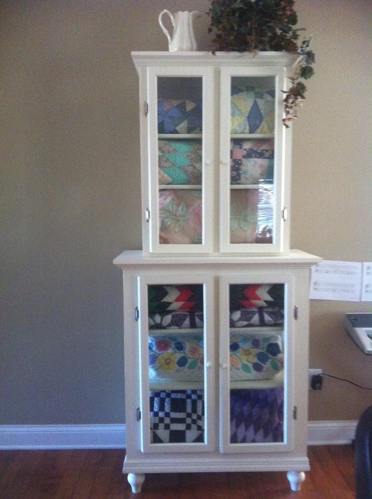 17 Best Images About Quilt Cabinet On Pinterest Quilt