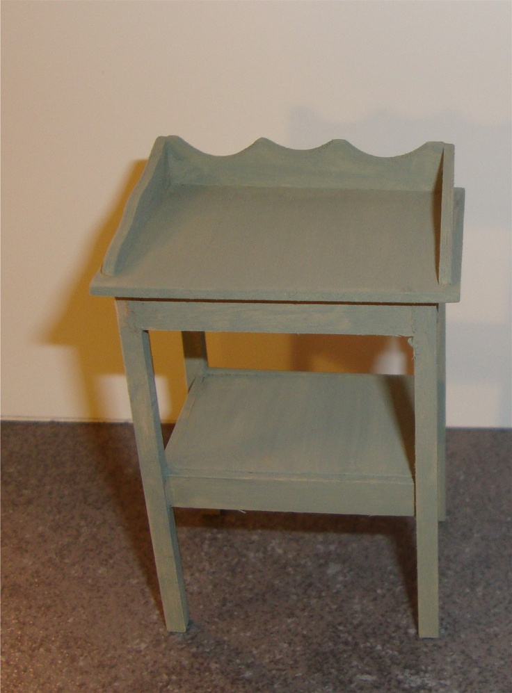 Miniature Doll Furniture WASH STAND MINIATURE Built By Deborah Gregory Miniature FurnitureDollhouse Doll Furniture