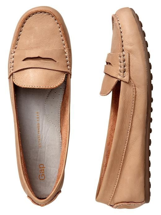 Gap Driving Moccasins - classic camel // $49.95