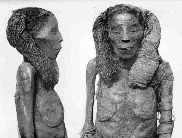 Ahmose-Nefertari | Mummy of queen Ahmose Nefertari mother of Amenhotep I