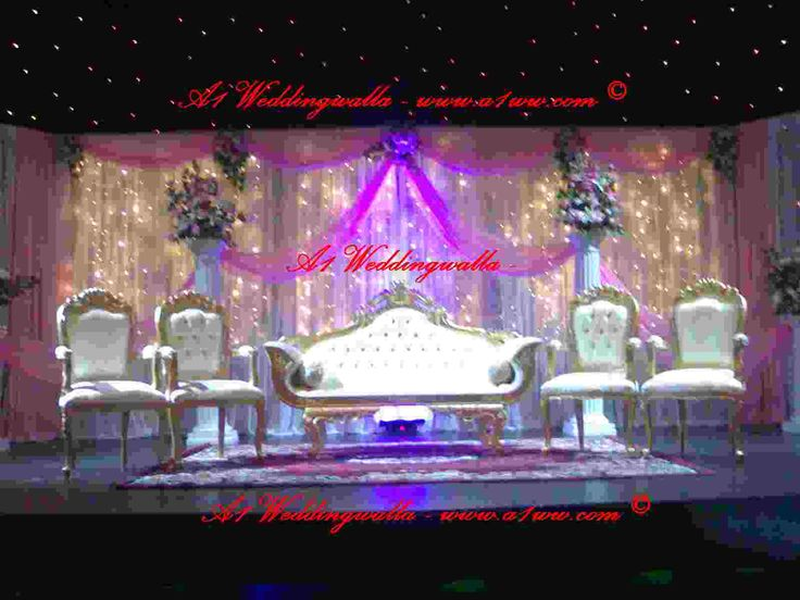 Top 25 best wedding stage backdrop ideas on pinterest for Asian wedding room decoration
