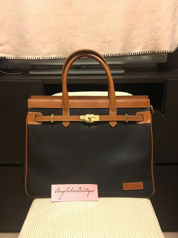 Authentic Bally Vintage Birkin Style Bag In 2018 Kelly Pinterest Bags And