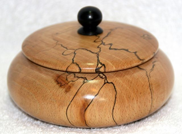 woodturning | Spalted beach lidded box woodturning, woodturnings, turning, turnings ...