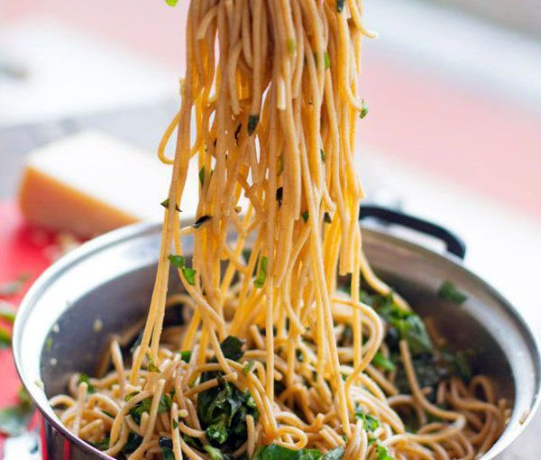 Garlic Butter Spaghett