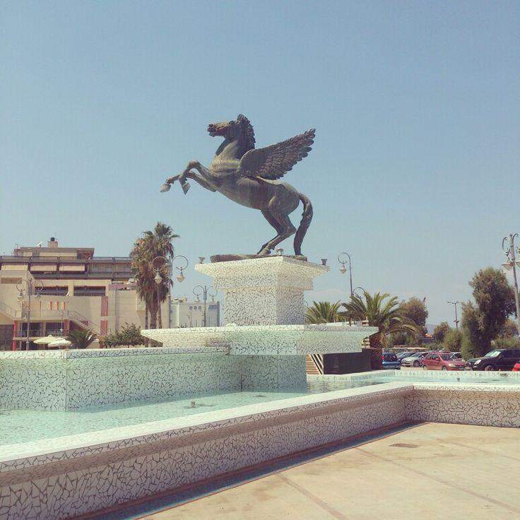 '' Pegasus '' @ Korinthos city, Greece