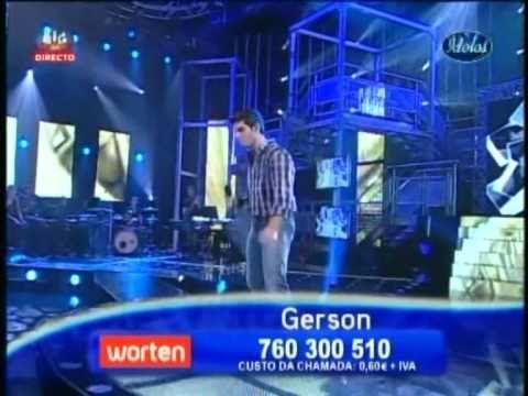 Ídolos 2010   Gerson Santos - Here Without You (Gala 1)  já cresceste tanto priminho... <3