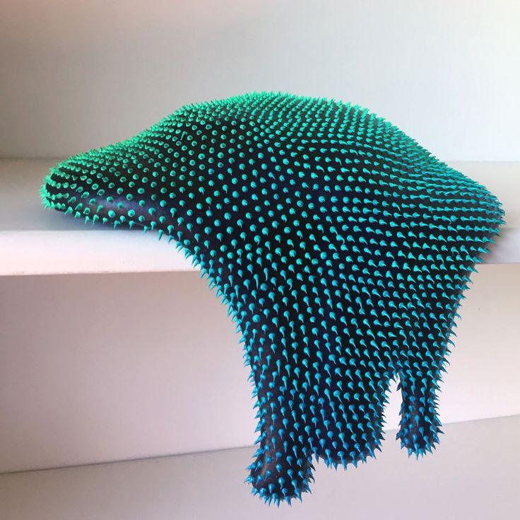 Dan Lam's neon coloured polymorphous 'drippy sculptures' | Wallpaper* Magazine