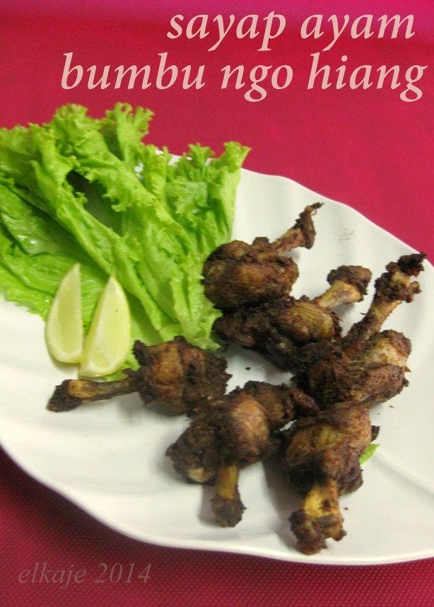 Sayap Ayam Bumbu Ngohiang Sayap Ayam Makanan Masakan